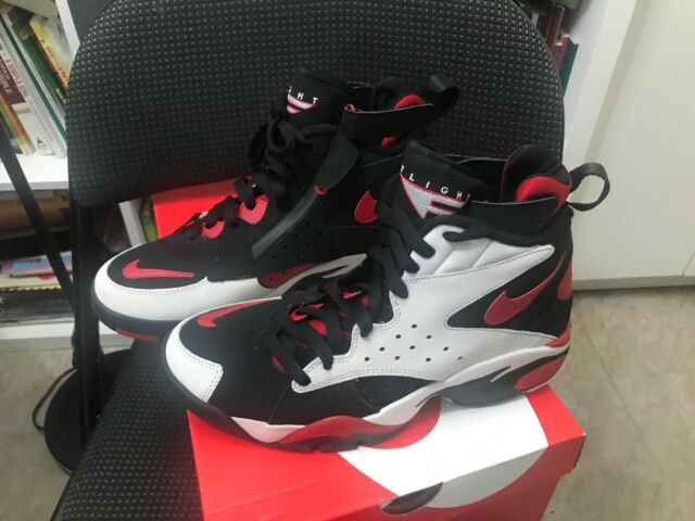 528145cd58cd77 Nike Air Maestro II LTD Mens AH8511-002 Black Grey Red Basketball Shoes  Size 8