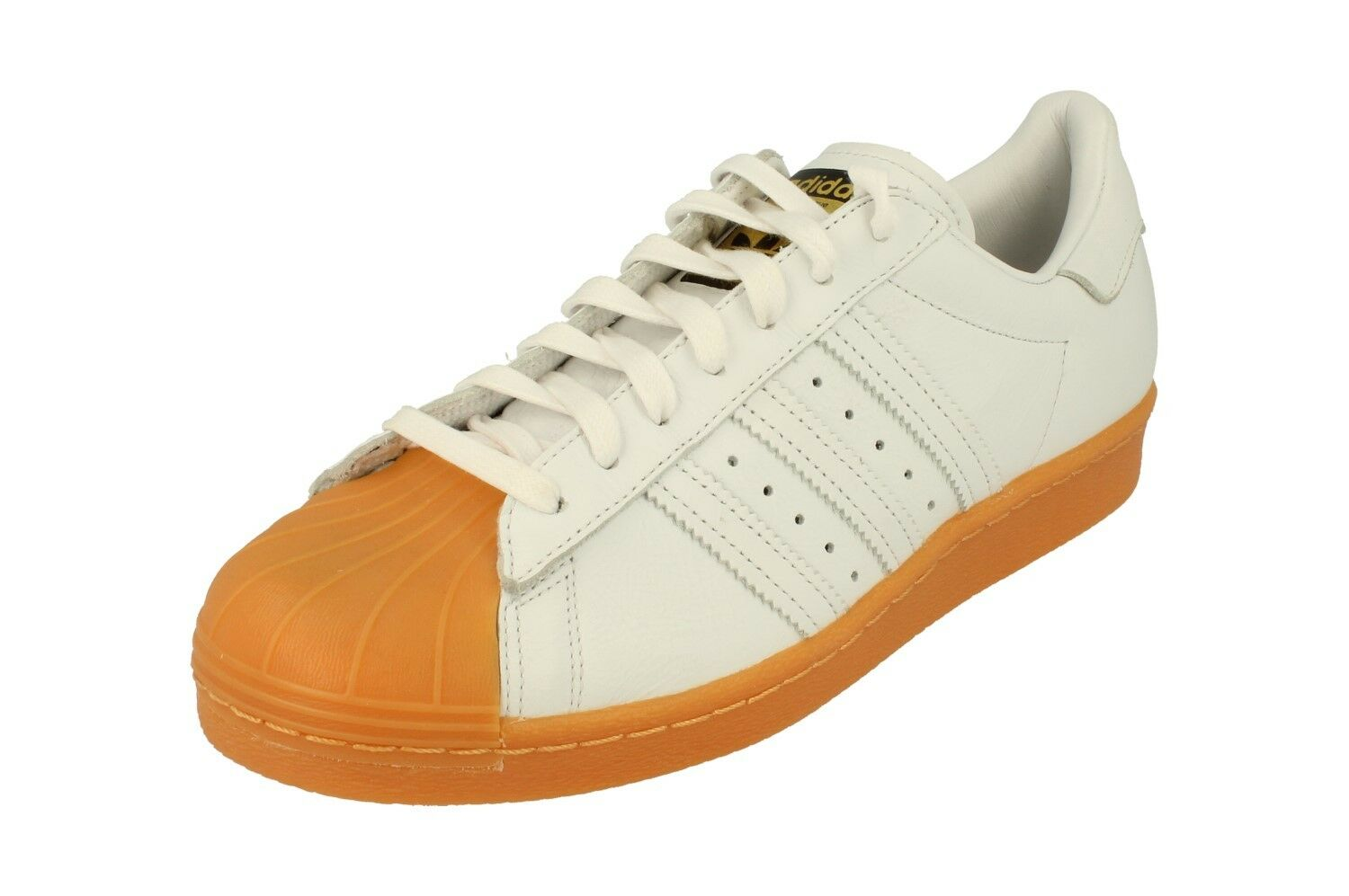 Adidas Originals Mens Superstar 80S Dlx Mens Originals Trainers Sneakers S75830 261f4e