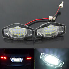 2x License Plate LED Light Lamp For 99-14 Honda Accord CRV/Acura MDX TL TSX CT
