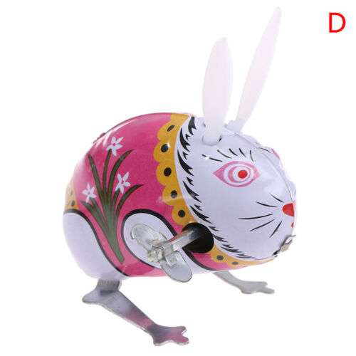 Details about  /Children/'s classic iron wind up toy frog rabbit Rooster mo J yL
