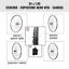 CERCHIO RUOTA BICI BICICLETTA COPERTONE NERO BIANCONERO MTB 24 x 1.75 1.95