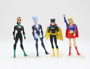 JUSTICE-LEAGUE-UNLIMITED-Supergirl-DC-Universe-Katma-Batgirl-LIVE-Action-Figure