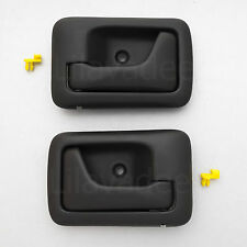 04 - 14 SUZUKI APV CARRY UTE PICKUP BLACK INSIDE DOOR HANDLE INNER INTERIOR