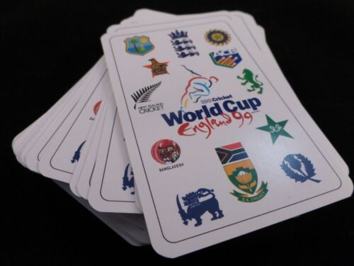 BNIB Brand New /& Sealed !! Official World Cup Cricket 1999 Playing Cards Pack