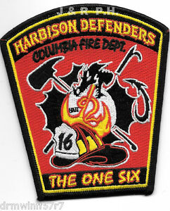 Columbia Station 16 SC Fire Dept Fire Patch Harbison Defenders South Carolina