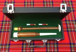 Brand-New-Scottish-HIGHLAND-Rosewood-Practice-chanter-with-carrying-box-2-Reeds