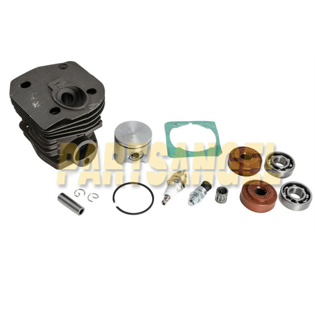 44mm Fits For Husqvarna 350 346 351 353 Chainsaw Kit Kit Cylinder /& Piston