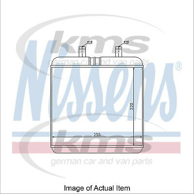 Ruimdenkende New Genuine Nissens Heater Radiator Matrix 71810 Top Quality