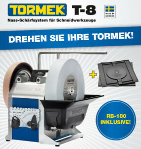 Tormek-T8-Wet-Grinding-Machine-Sharpening-Planer-Cutter-Chisel-Turntable-RB180