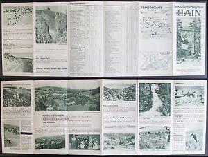 Prospekt-Deutsche-Riesengebirgsmitte-Hain-um-1940-Przesieka-Kurort-Schlesien-xz