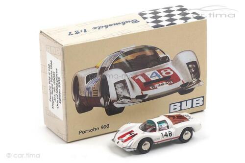 Sieger Targa Florio 1966 Porsche 906 #148 BUB 1:87-08051