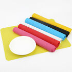 Silicone Pastry Bakeware Baking Tray Oven Rolling Kitchen Mat Sheet Tool 5 Color