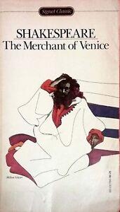 The-Merchant-of-Venice-by-Shakespeare-Signet-Classics-used-paperback-1965-Myrick