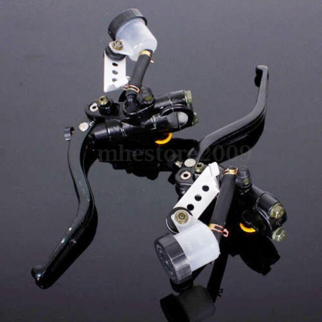 "7/8"" Motorcycle Handlebar Control Brake Master Cylinder Hydraulic Clutch Lever"