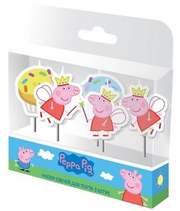 PARTY-SET-set-of-candles-for-cake-peppa-pig-holiday-for-holiday-topper