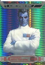 Star Wars Chrome Perspectives Prism Refractor Parallel Base #47R Thrawn