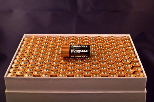 400 AA Alkaline Duracell Batteries 1.5v WHOLESALE FactoryFresh Bulk Battery Lot