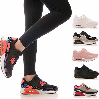 LADIES KIDS TRAINERS P.E GYM CASUAL RUNNING JOGGING FITNESS PUMPS SHOES SIZE 3-8