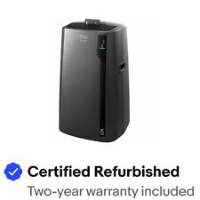 DeLonghi 4-in-1 Wifi Compatible Portable Air Conditioner (Certified Refurbished)