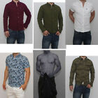 New Abercrombie & Fitch by Hollister Mens Button Shirt Muscle Fit NWT