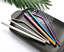 7 color Extra Wide for Bubble Tea 4pc Stainless Steel Metal Reusable Straw Kit