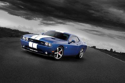 Multiple Sizes Dodge Challenger Redline Muscle Car Poster #2