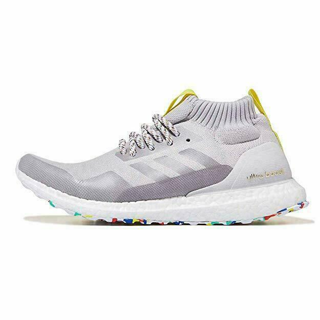 Size 11.5 - adidas UltraBoost Mid Multicolor White 2018