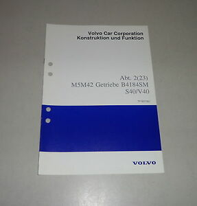 volvo v40 werkstatthandbuch