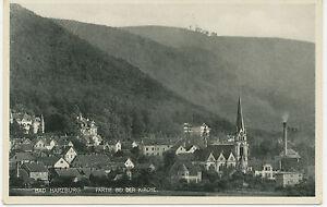 D-BAD-HARZBURG-Partie-bei-der-Kirche-RP-AK-ca-1920