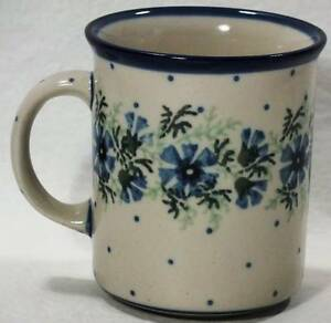 Polish Pottery Mug Cup Ceramika Artystyczna Boleslawiec Ebay