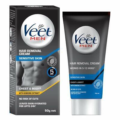 10 X Veet Hair Removal Cream For Men Sensitive Skin 100 Gm