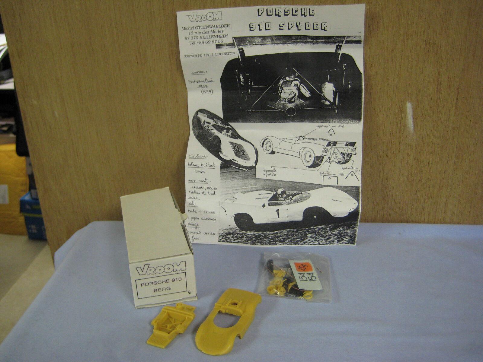 Neue, erbaut, um porsche 910 spyder, schauinsland 1968, 1   43   modell kit