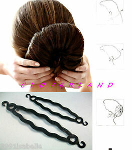 accessoires cheveux chignon donut. Black Bedroom Furniture Sets. Home Design Ideas