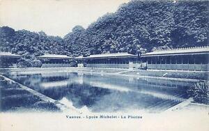 Cpa 92 Vanves Lycee Michelet La Piscine Ebay