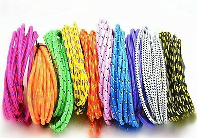 3M/10FT Hemp Rope Micro USB Charger Sync Data Cable Cord for Samsung Cell Phone