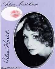 OFFICIAL WEBSITE Arlene Martel (1936-2014) 8x10 Lipstick KISSED & AUTOGRAPHED