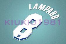 Chelsea Lampard #8 2011-2012 Homekit Nameset Printing