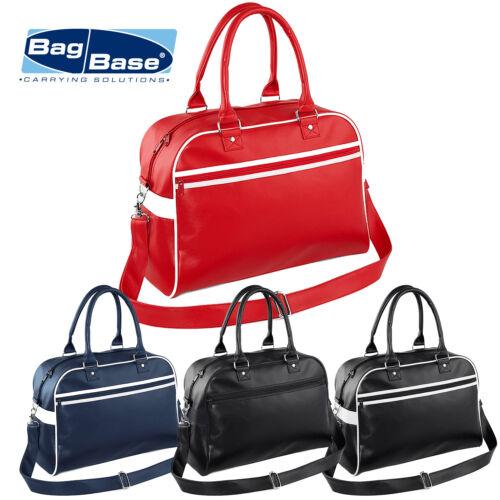 BagBase Original Retro Style Bowling Weekend Gym Travel Holiday Unisex Bag New
