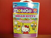 Vtech Mobigo Hello Kitty Birthday Party 5 Games Sealed Math, Letters, ++