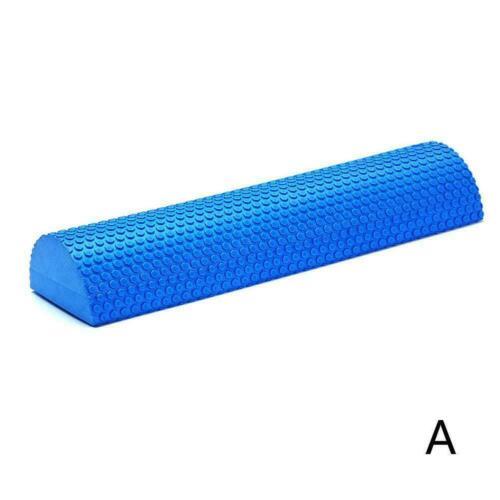 Yoga Column Roller Muskelmassage Roller Gym Fitness Column Semicircular G4E8