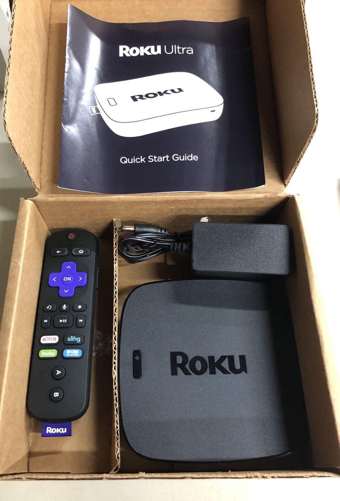 Roku 4660x2 Ultra 4K/HD/HDR Streaming Media Player / Fast Shipping 4660x2 fast media player roku shipping streaming ultra