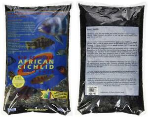 Caribsea Aquatics Eco Complete African Cichlid Zack Sand 20 Pound Black 8479007773 Ebay