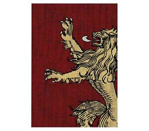 Game-of-Thrones-House-Lannister-Trading-Card-Sleeve-50-Count-NEW-sleeves