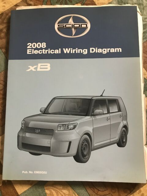 Toyota Scion Xb Electrical Wiring Diagram 2008 Shop Repair