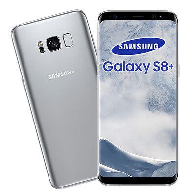 """SAMSUNG • Galaxy S8+ PLUS • 64Gb SILVER • GARANZIA 2 ANNI • G955F 6.2"""" 4G NUOVO"""