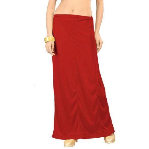 Sari Doublure Jupon Bollywood indiansoft Satin Silk Saree jupon INSKIRT