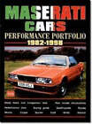 Maserati Cars Performance Portfolio 1982-1998 by Brooklands Books Ltd (Paperback, 2002)