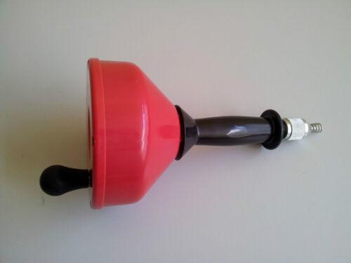 Drain Cleaner Plumbing Sink Pipe Unblocker Rigid Auger Plunger Tool