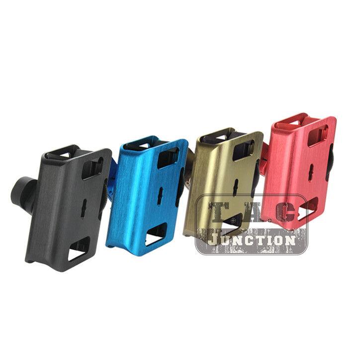 IPSC USPSA CNC Aluminum Shooting Race Pistol Master Mag Magazine Pouch Holster