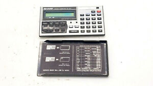 Sharp PC-1270 Electronic Calculator Programmable Computer + Cover - For Parts